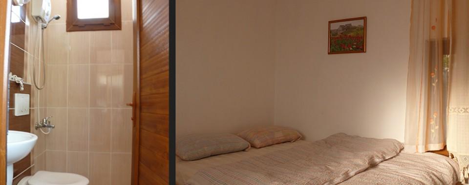 Bad und Zimmer