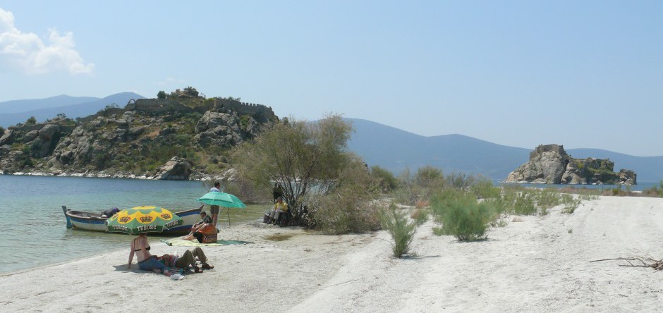 Picknick auf der Ikizada (Zwillingsinsel)